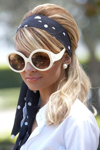 Nicole Richie in Eley Kishimoto Sunglasses