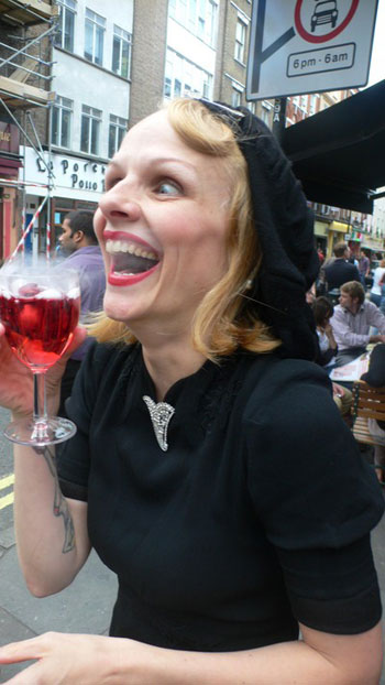 Pippa Drinking Blood of Toad