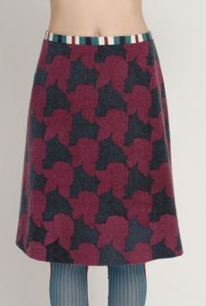 AW1213 SHADOW ROSES POLITE SKIRT - VARIOUS